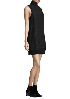 Rag & Bone Sofiya Lace Mockneck Dress