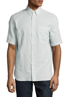 Rag & Bone Solid Button-Down Shirt