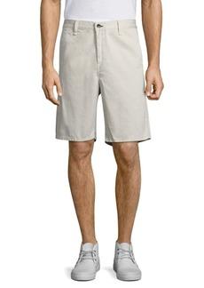 Rag & Bone Solid Cotton Shorts