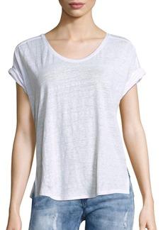Rag & Bone Solid Linen Cargo T-Shirt
