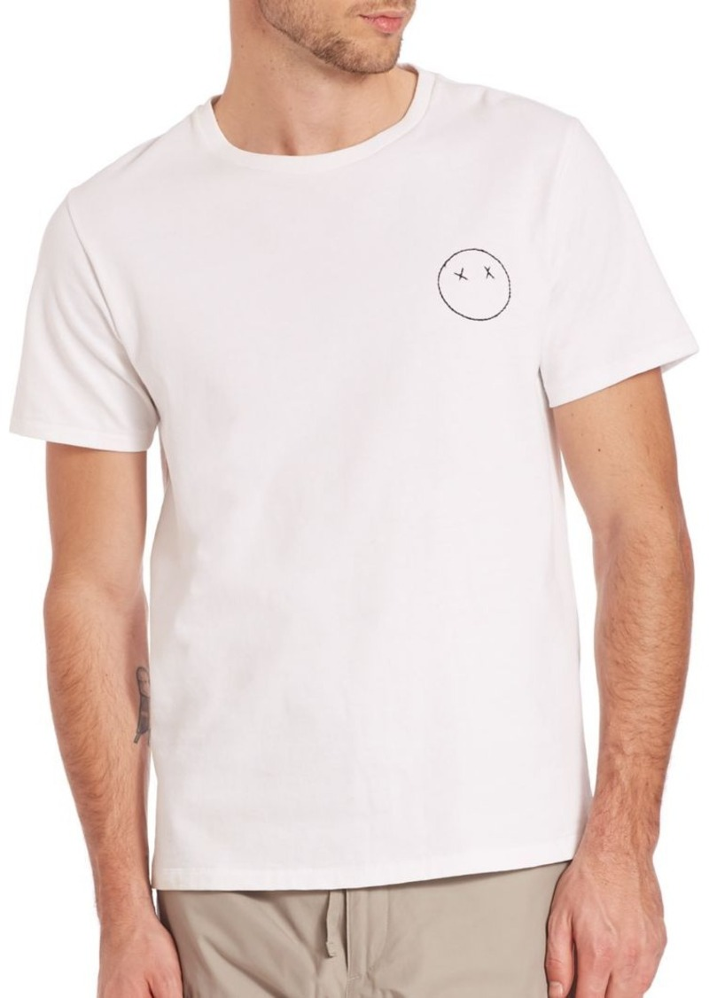 Rag & Bone Sour Face Embroidery Tee