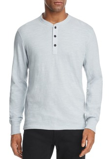 rag & bone Standard Issue Classic Cotton Henley