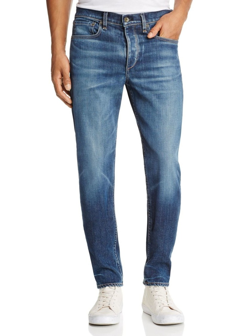 rag & bone Standard Issue Fit 2 Slim Fit Jeans in Medium Blue