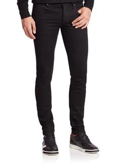 rag & bone Fit 1 Skinny-Fit Black Jeans