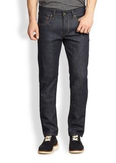 Rag & Bone Fit 2 Slim-Fit Raw Jeans