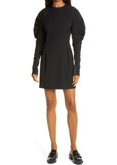 rag & bone Stephanie Gathered Long Sleeve Minidress