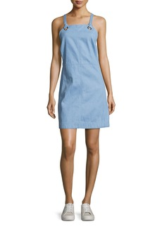 Rag & Bone Suffolk Denim Apron Dress
