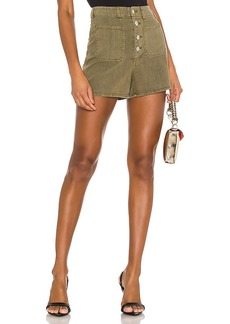 Rag & Bone Super High Rise Military Shorts