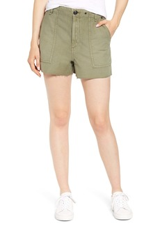 rag & bone Super High Waist Cotton Army Shorts