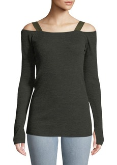 Rag & Bone Surplus Long-Sleeve Wool-Blend Top
