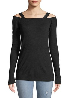 Surplus Long-Sleeve Wool-Blend Top