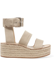 rag & bone Tara canvas espadrille platform sandals