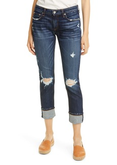 rag & bone The Dre Ripped Slim Boyfriend Jeans (Harper)