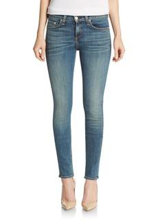 Rag & Bone The High-Rise Skinny Jeans