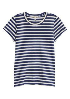 rag & bone The Slub Stripe Organic Pima Cotton T-Shirt