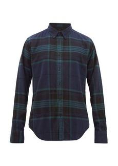 Rag & Bone Tomlin checked cotton shirt