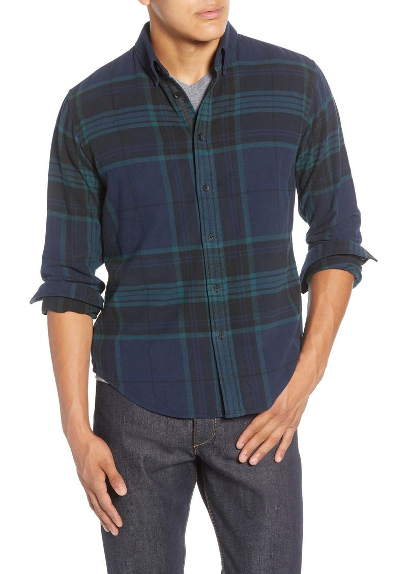 rag & bone Tomlin Slim Fit Plaid Button-Down Shirt