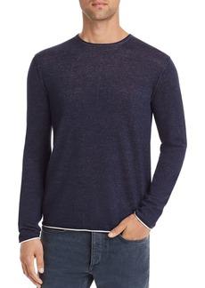 rag & bone Trent Contrast-Trimmed Sweater