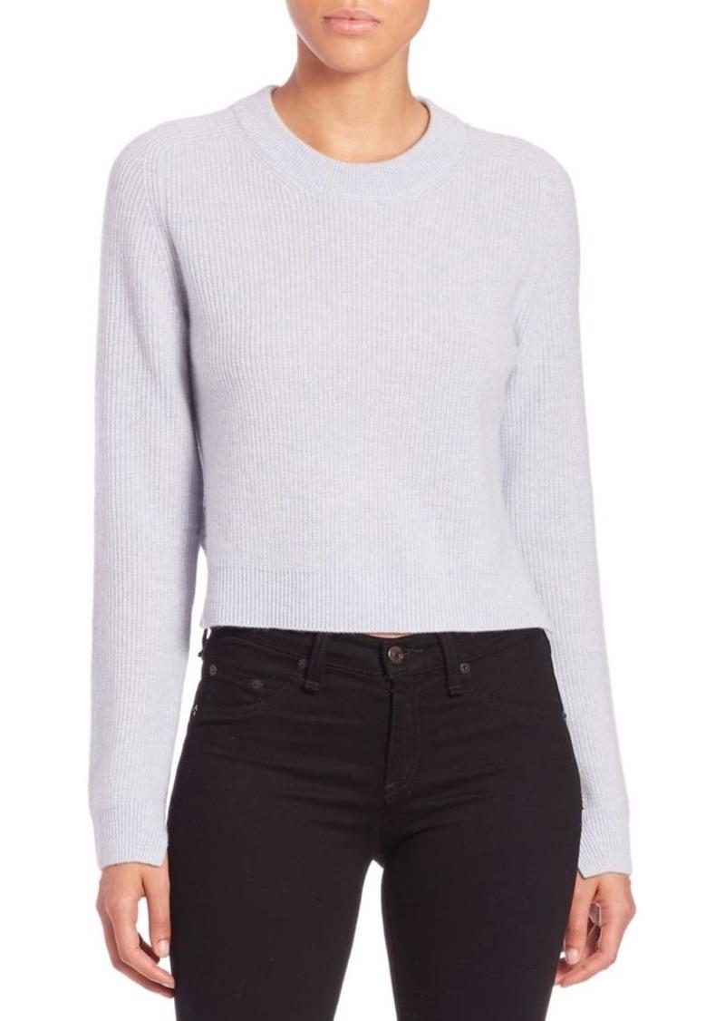 Rag & Bone Valentina Cropped Cashmere Sweater
