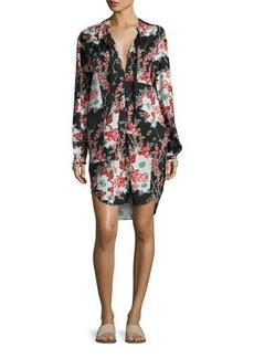 Rag & Bone Verna Floral Patchwork Dress