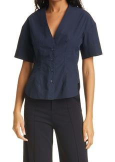 rag & bone Victorine Front Button Shirt