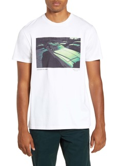 rag & bone Vintage Car Graphic T-Shirt