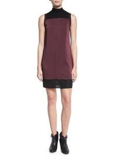 Rag & Bone Vivienne Chiffon Colorblock Shift Dress
