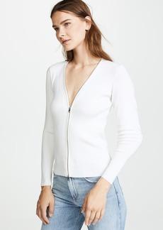 Rag & Bone Vivienne Zip Up Sweater