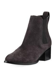 Rag & Bone Walker Suede Block-Heel Chelsea Boot