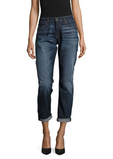 Rag & Bone Whiskered Faded Jeans