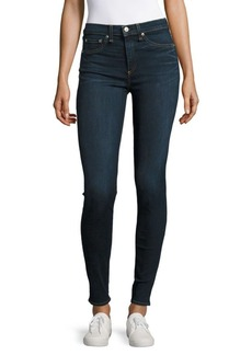 Rag & Bone Whiskered Skinny Jeans