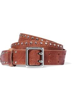 rag & bone Willow studded leather belt