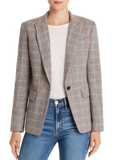 rag & bone Windowpane Plaid Blazer