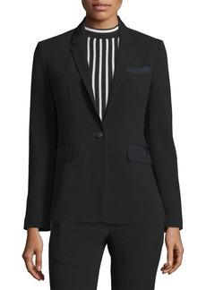 Rag & Bone Windsor One-Button Blazer  Black