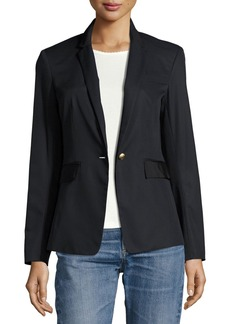 Rag & Bone Windsor Single-Button Cotton Blazer