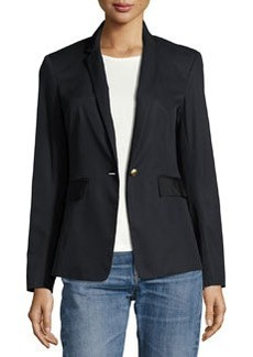 Rag & Bone Windsor Single-Button Cotton Blazer