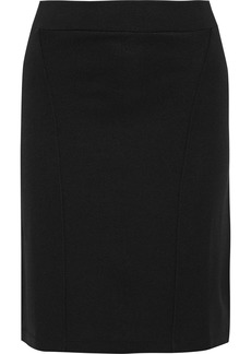 Rag & Bone Woman Adrian Stretch-knit Mini Skirt Black