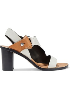 Rag & Bone Woman Embellished Two-tone Leather Sandals Ivory