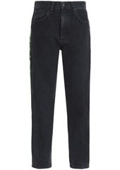 Rag & Bone Woman Ash Mid-rise Slim-leg Jeans Dark Denim