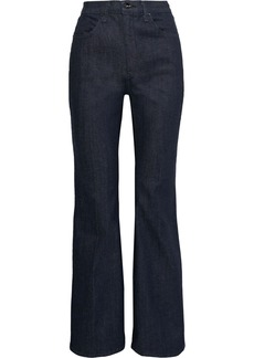 Rag & Bone Woman Bella High-rise Flared Jeans Dark Denim