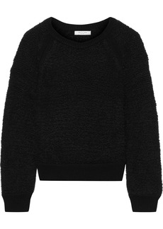 Rag & Bone Woman Brooke Bouclé-knit Sweater Black