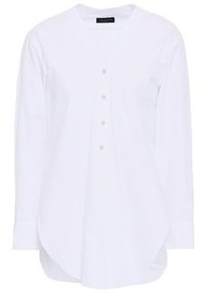Rag & Bone Woman Carter Cotton-poplin Shirt White