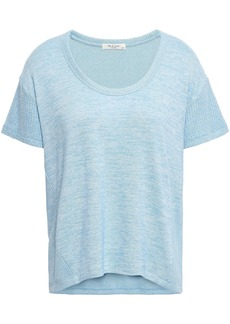 Rag & Bone Woman Carla Knitted T-shirt Sky Blue