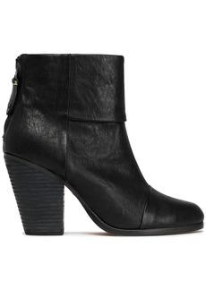 Rag & Bone Woman Classic Newbury Leather Ankle Boots Black