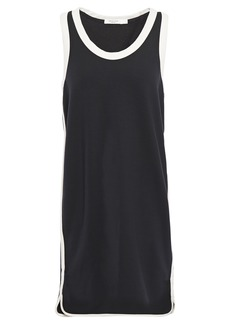Rag & Bone Woman Coast Two-tone French Modal-blend Terry Mini Dress Black