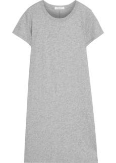 Rag & Bone Woman Core Mélange Pima Cotton-jersey Mini Dress Gray