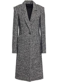 Rag & Bone Woman Dani Herringbone Wool-blend Coat Black