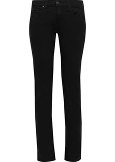 Rag & Bone Woman Dre Low-rise Skinny Jeans Black