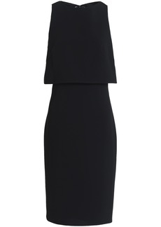 Rag & Bone Woman Eliza Layered Cutout Crepe Dress Black