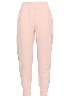 Rag & Bone Woman Cotton-blend Terry Tapered Pants Blush